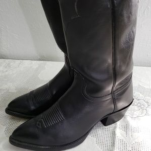 J. Chisholm driver series leather cowboy boots 8.5